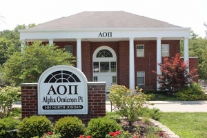 The 'new' AOII House